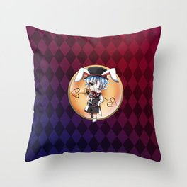 Lapin's CLock Throw Pillow