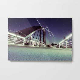 Electric Bridge - Columbus, OH Metal Print