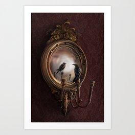 Brooke Figer - Reflection on Perception Art Print