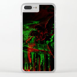 Angels and Pillars Clear iPhone Case