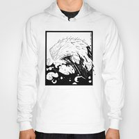 moby dick Hoodies featuring Moby Dick by JoJo Seames