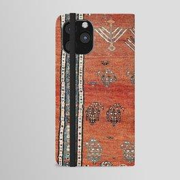 Bakhshaish Azerbaijan Northwest Persian Carpet Print iPhone Wallet Case