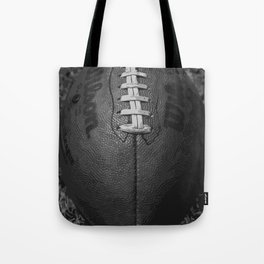 Big American Football - black &white Tote Bag