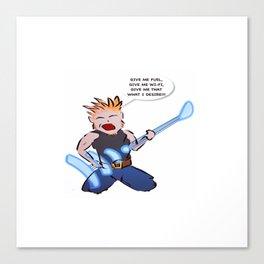 Wi-Fi I desire Canvas Print