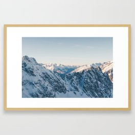 VIEWS FROM THE HEAVENS Framed Art Print