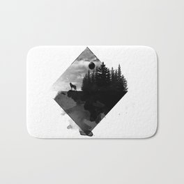 Landscape - Wild Forest Bath Mat