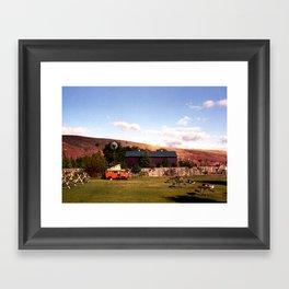In Dubois, Wyoming Framed Art Print