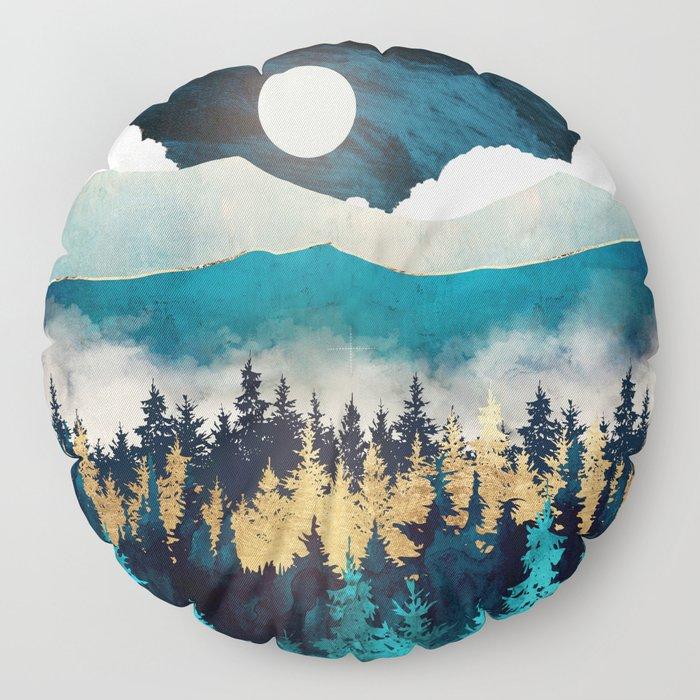 Evening Mist Floor Pillow