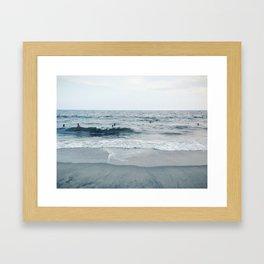 Rockaway Beach, NYC Framed Art Print