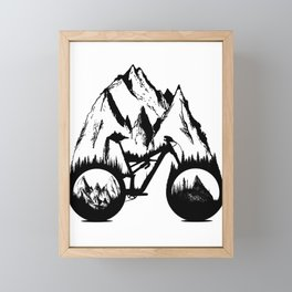 New Enduro Framed Mini Art Print