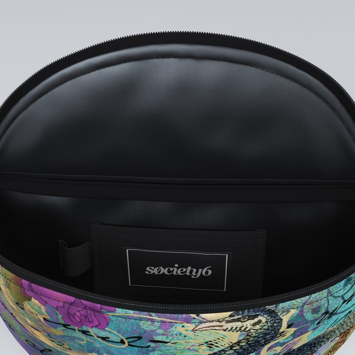 Feather peacock 22 Fanny Pack