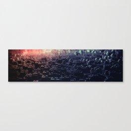 Fantastic Techno Background Canvas Print