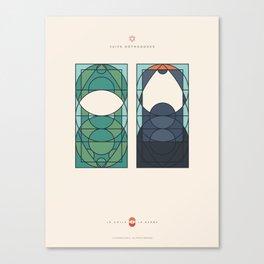 LE VOILE & LA BARBE - Juifs orthodoxes - Femme & Homme Canvas Print