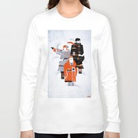 fargo Long Sleeve T-shirts featuring Fargo TV Series Poster by Take Heed