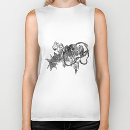 The Anatomy of Thought 6 Biker Tank