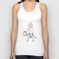 farm Tank Tops featuring The farm by Ainaragm