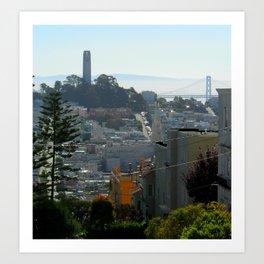 San Francisco View Art Print