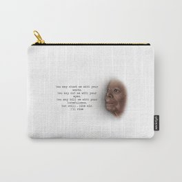 Maya Angelou, Still I Rise Carry-All Pouch