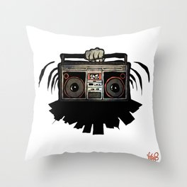 "Livin' For The City - ""Good Vibrations"" Throw Pillow"