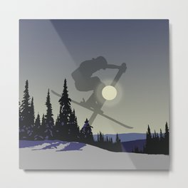 Touch The Morning Sun - Square | DopeyArt Metal Print