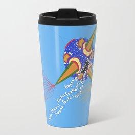 Chrismas Piñata Travel Mug