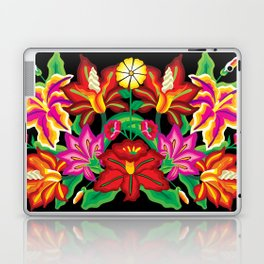 Mexican Exotic Flowers Laptop & iPad Skin
