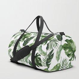 Tropical Leaf Duffle Bag