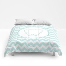 Chevron Tooth Comforters