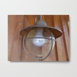 Lighting Globe Metal Print