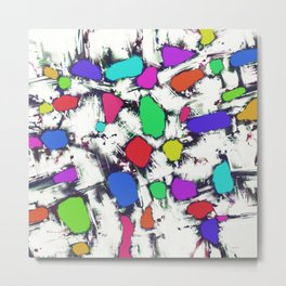 Candy scatter Metal Print
