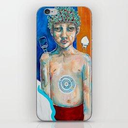 ...he prepared to face them alone... iPhone Skin