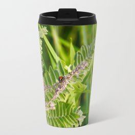 Dot on the Spot Metal Travel Mug