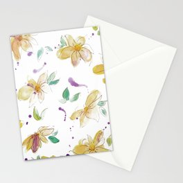 blazz studios: Spring Flowers Stationery Cards