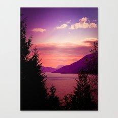 Sunset Sea to Sky Canvas Print