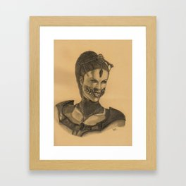 Mileena - MKX Framed Art Print