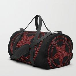 Das Siegel des Baphomet (rot) - The Sigil of Baphomet (red) Duffle Bag