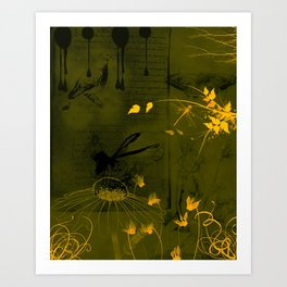 """Nymphs"" Art Print"