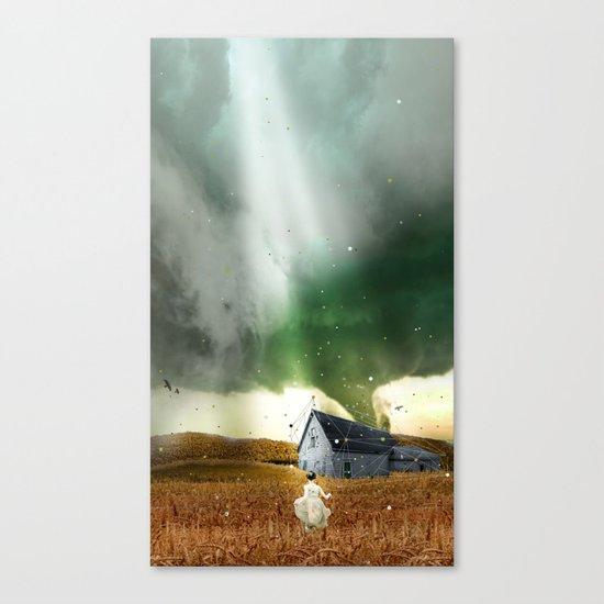 DOROTHY'S HOUSE Canvas Print