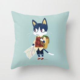 Rover Roves Throw Pillow