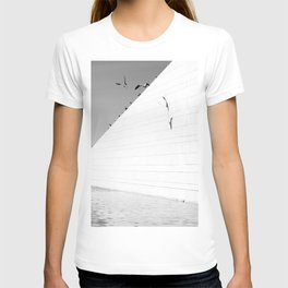 Shadows birds T-shirt