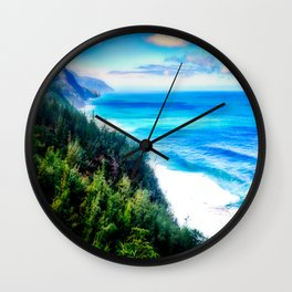 Silent Sage 0015 Kauai Wall Clock