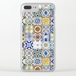 Tiled Up! Clear iPhone Case