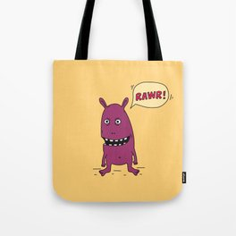 Rawr! Monster! Tote Bag