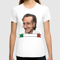 world cup T-shirts featuring  Cesare Prandelli World Cup by Michael Paci