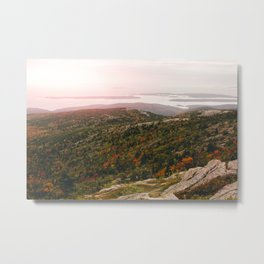 Autumn in Acadia II Metal Print