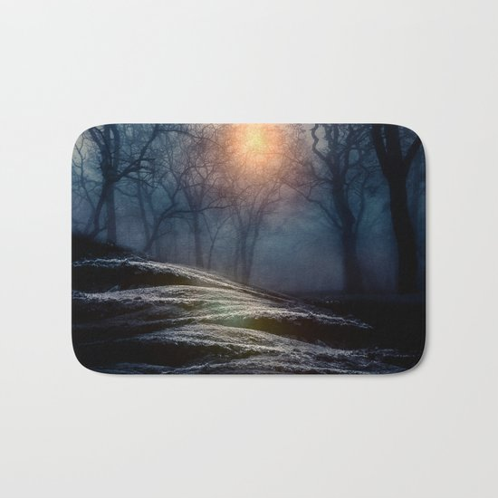 From small beginnings and big endings. Bath Mat