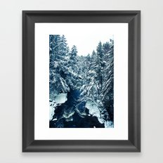 Snowy River Framed Art Print
