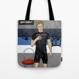Skin Tight Shopping Spree Tote Bag