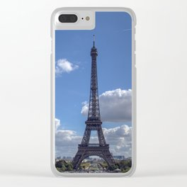 Eiffel tower from Trocadero Clear iPhone Case