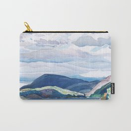 Franklin Carmichael - Lake and Hills - Canada, Canadian Watercolor Painting - Group of Seven Carry-All Pouch